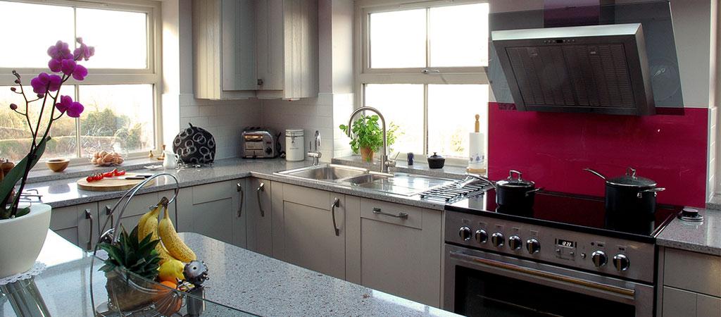 3Ways Whitby - kitchen interior with granite worktops