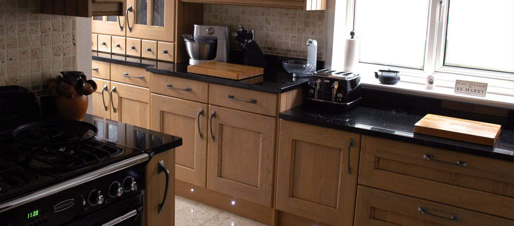 3Ways Whitby - kitchen interior with wooden shaker style units