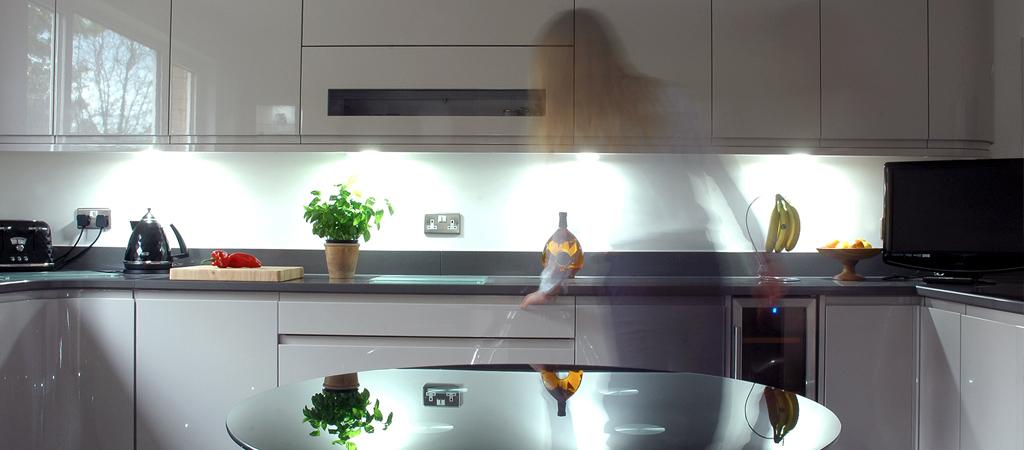 3Ways Whitby - gloss kitchen interior